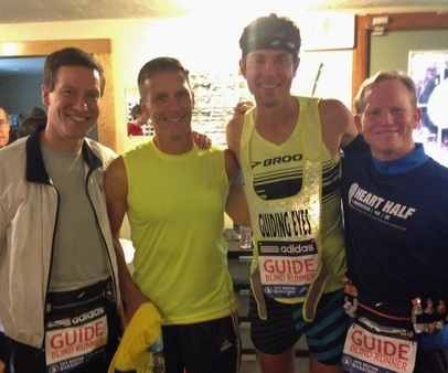 Charles, Dan, Scott Jurek and Brad